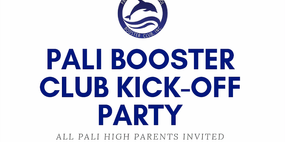 Pali High Booster Club Annual Kick-Off Party