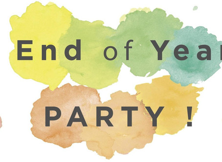End of Year Party/Booster Club Meeting - May 21st