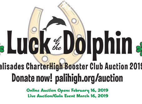 Pali Booster Club Auction Coming Soon!