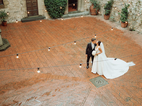 Ilaria & Francesco - Matrimonio Castello il Palagio Val di Pesa