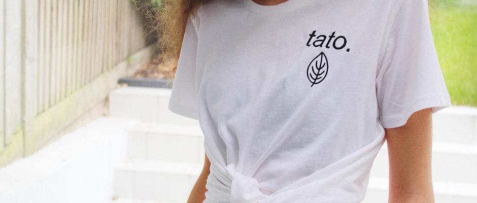 TATO. Embroidered Organic Tee