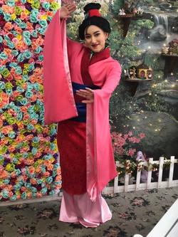 Makiko as Mulan