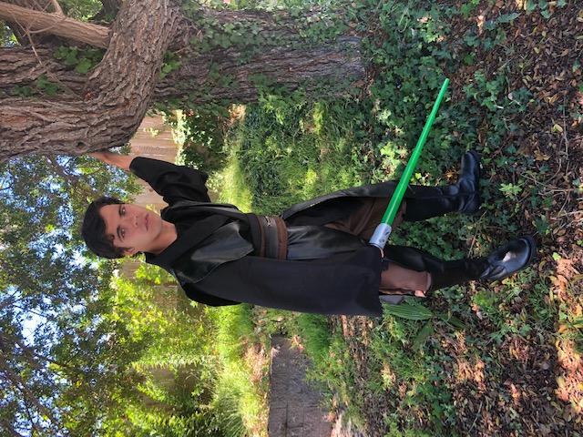 John as Jedi