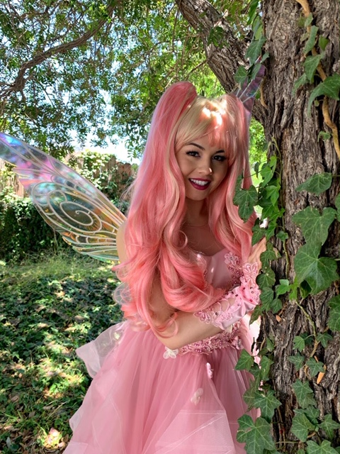Robyn as Pink Fairy