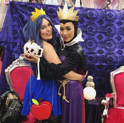 Evil Queen & daughter