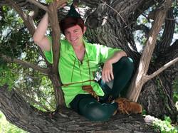 Josh as Peter Pan