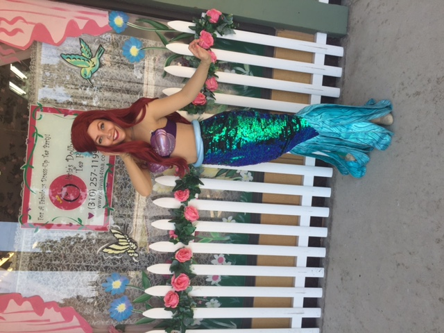 Brenna as The Little Mermaid