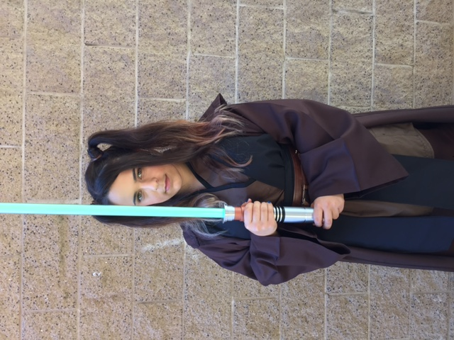 Rylee as Jedi Trainer