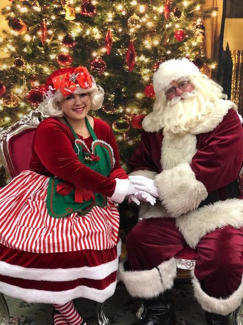 Santa Craig & Aley as Mrs Claus