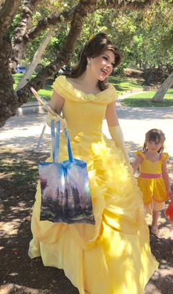Sara as Belle
