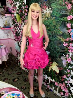 Mira as Barbie Girl