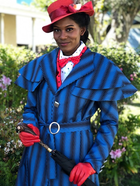 Kumari as Mary Poppins