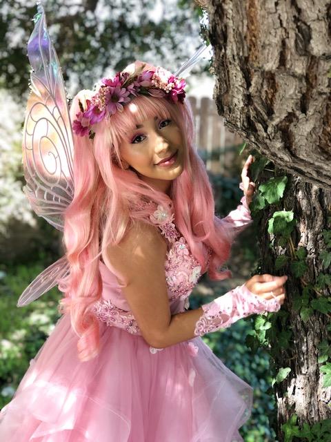 Becky as fairy