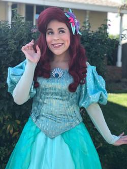 Rylee as The Little Mermaid