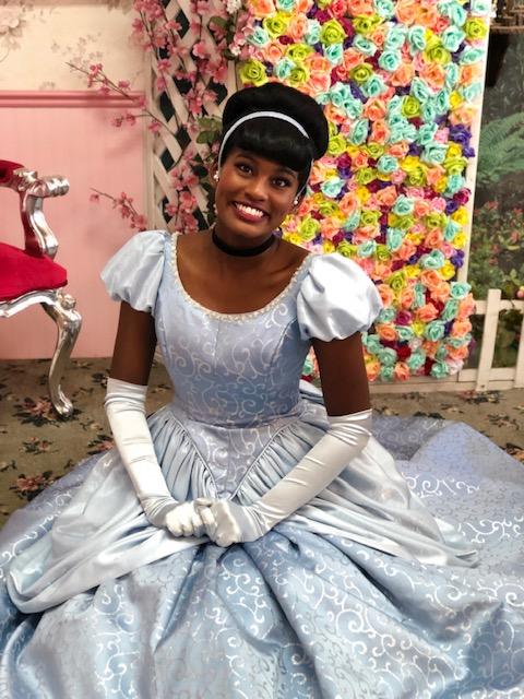 Kumari as Cinderella