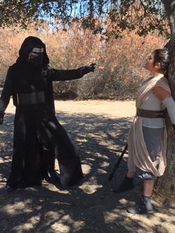Kenji as Sith Rylee as Jedi