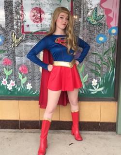 Mai as Super Hero