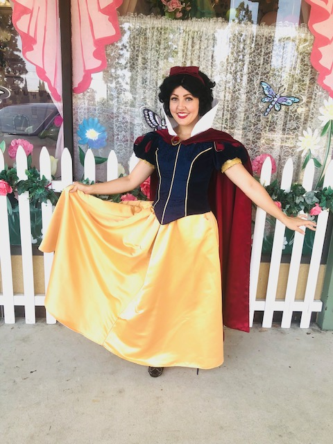Brenna as Snow White