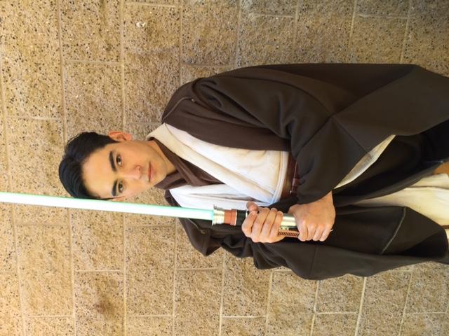 Kenji as Jedi Trainer