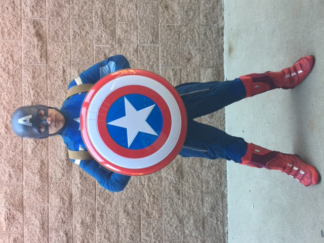 Kenji as Cap