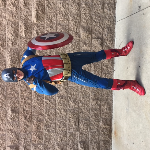James as American Hero