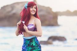 Brenna as The Little Mermaid