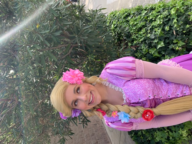 Rylee as Rapunzel