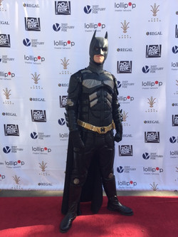 James as Dark Knight