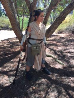 Rylee as Jedi