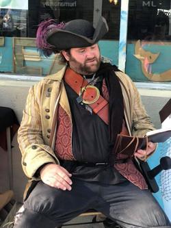 Craig as Pirate