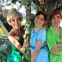 Lexie as Tink Rylee as Wendy John as Pet