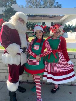 Santa Craig, Becky & Holly