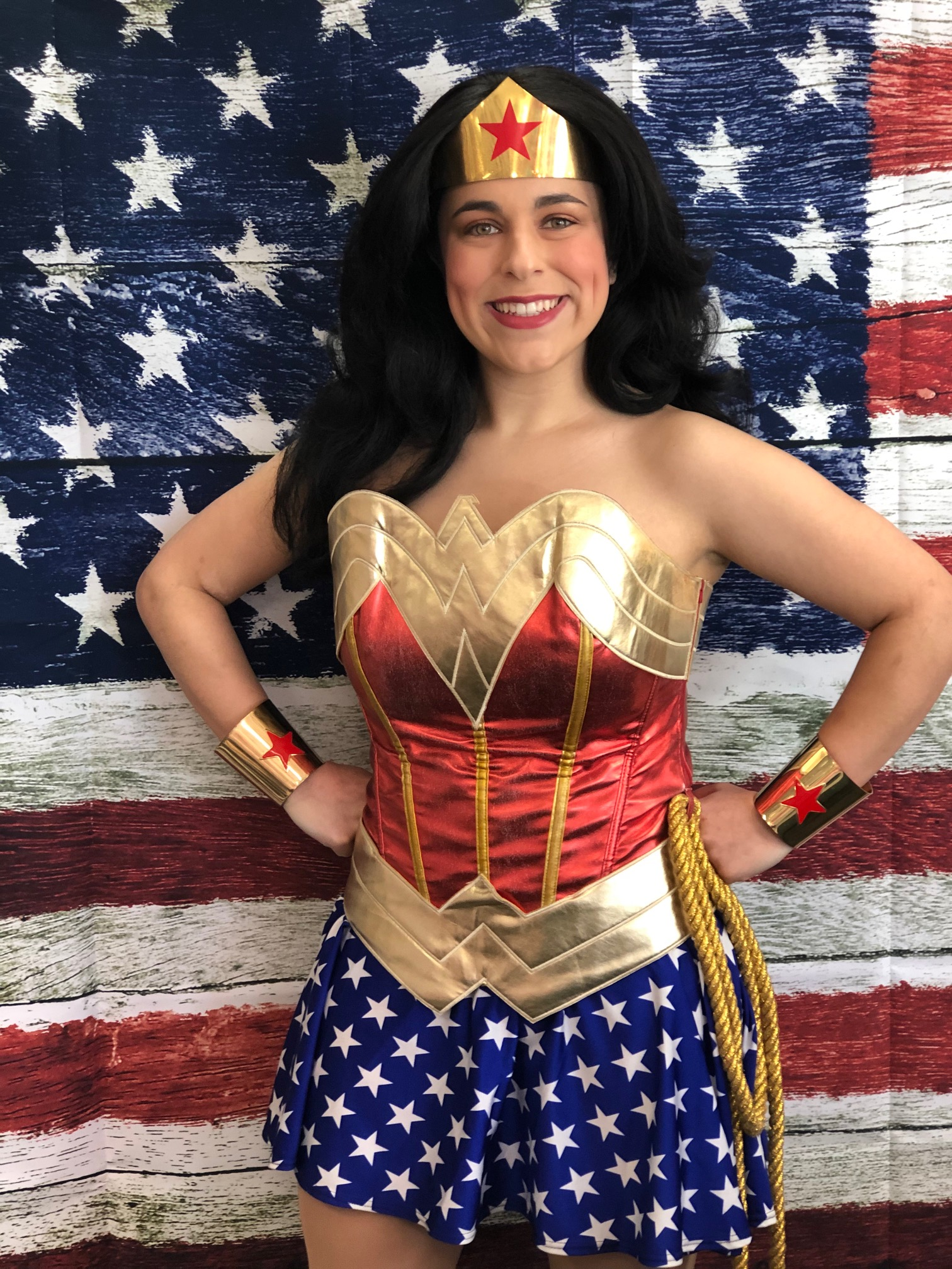 Rylee as Classic Wonder Woman