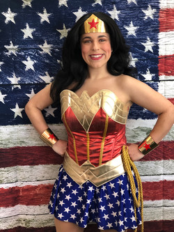 Rylee as Classic Wonder Woman