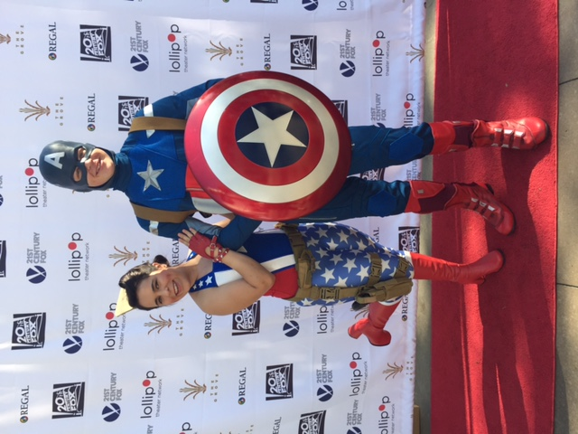 Ray as Cap Rylee as Patriot