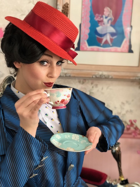 Mira as Mary Poppins