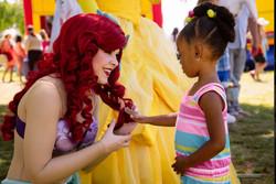 Ariel's hair