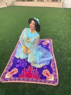 Becky as Arabian Princess