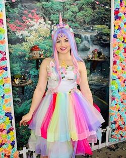 Robyn as Unicorn Princess