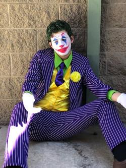 James as Joker