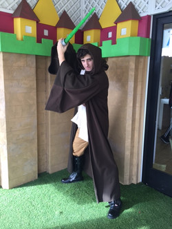 James as Jedi