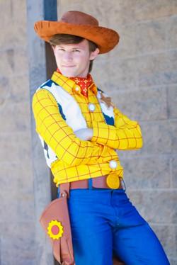 Josh as Cowboy