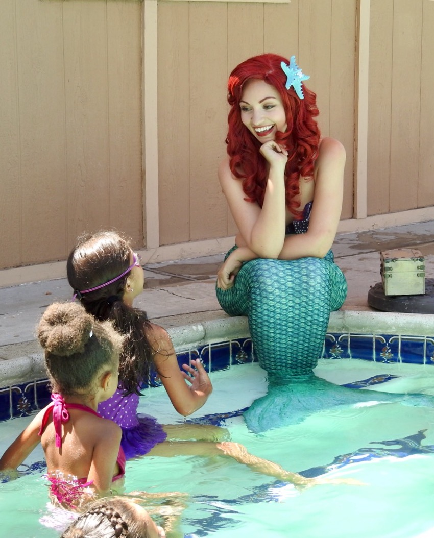 Pool Party Little Mermaid