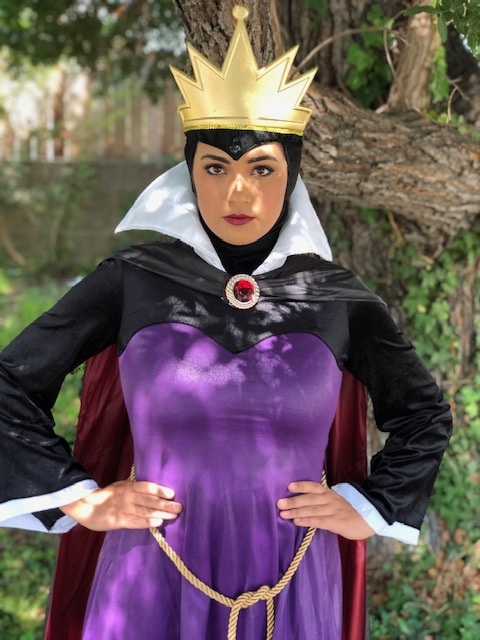 Kylie as Evil Queen