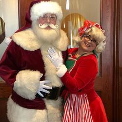 Jim & Holly as Santa & Mrs