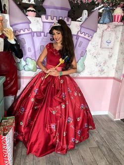 Kylie as Crowned Princess