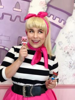 Rylee as LOL Doll