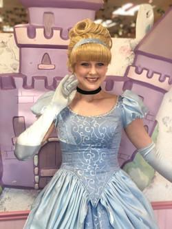 Mira as Cinderella