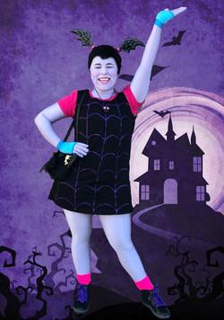 Rylee as Vampire Girl