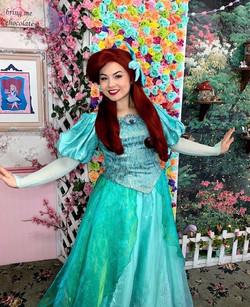 Robyn as The Little Mermaid
